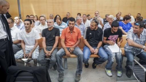 イスラエルの裁判所は6アラブの市民を宣告さ