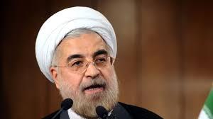 イランの大統領博士ハッサンRohani
