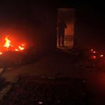 南部リビアの軍事武器デポへの攻撃