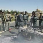 アフガニスタン南部ガズニ州、自爆テロは、4つのセキュリティ担当者を殺した