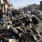 アレッポ、シリアの後、政府の衝撃の景色