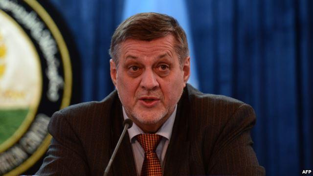 アフガニスタンへの国連特使、ヤンKubisは選挙結果が遅れているといわ