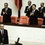トルコ大統領エルドアンは宣誓を取った