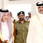 サウジアラビアのサウド外相はプリンス·アル·ファイサルはカタールを訪問