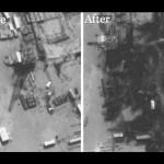 アメリカの爆弾がシリア3製油所を破壊した