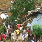 死者100行方不明〜300スリランカの地すべり