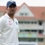 インドのクリケットのキャプテンマヘンドラシンドーニは、テスト·クリケットから引退を発表した