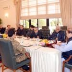 首相ナワズ·シャリフは、5時間後に終了前土曜日国家安全保障会議の議長を務めた