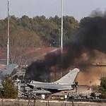 スペインでは戦闘ジェットは10人が死亡、訓練演習中に墜落した