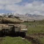 シリアからイスラエルに4ロケット攻撃はイスラエルの軍事施設の近くに落ちたそれらの備品だった