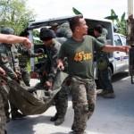 フィリピンの反乱軍と警察の間で衝突が45を殺す