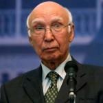 パキスタン外相Sartajアジズ·アドバイザー