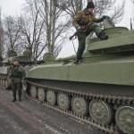 ウクライナは正面から重火器を取り除くようになった