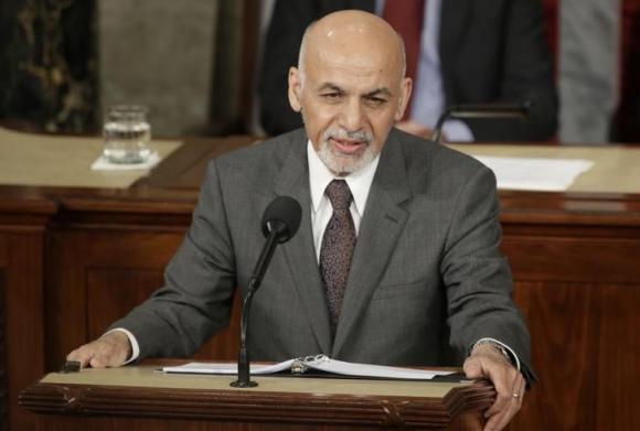 アフガニスタンの大統領は、アシュラフ·ガニーは、米国議会への対応