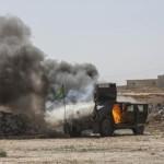 イスラム国家でティクリートで米国の空爆