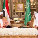 サウジアラビアの国王ハッサンサルマンビン·アブドゥル·アジズとスーダンの大統領オマル·アル=バシール