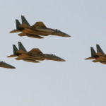 イエメンで反乱軍を攻撃するサウジ空軍基地