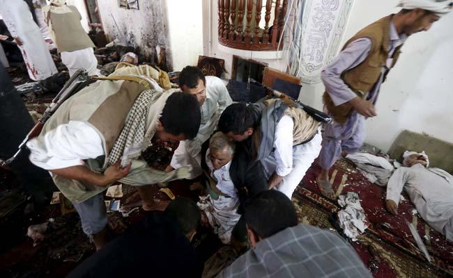 イエメンの首都サヌアでは、3自爆テロは3シーア派のモスクイエメンの市民を対象と