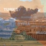 シリア領土内のトルコの介入はオープン攻撃シリアで