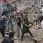 400はネパールの地震によって殺された