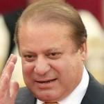 パキスタンのチーフ大臣ナワズ·シャリフ