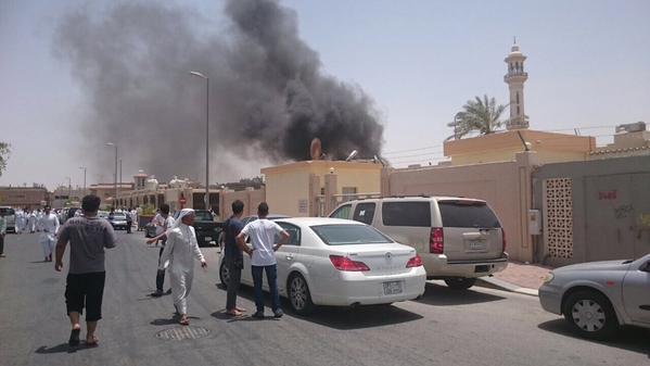 ダンマンモスク自爆攻撃のサウジアラビア市は4を殺します
