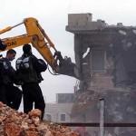 イスラエルの解体に占有東エルサレムのパレスチナ人で2万新しい家