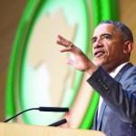 オバマ米大統領、アフリカ連合本部で彼の歴史的な演説