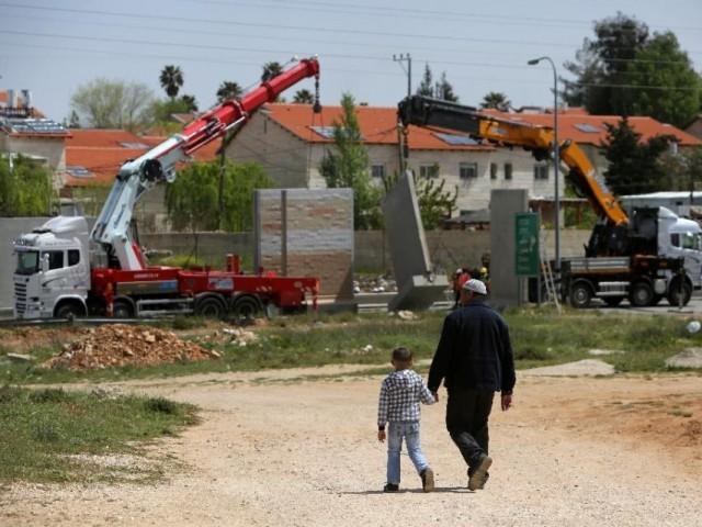 西岸「ベイト・エル」決済で300の家が建設されます