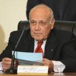 エジプトの選挙委員会の責任者アイマン・アッバス