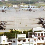 沖縄宜野湾市の米普天間基地