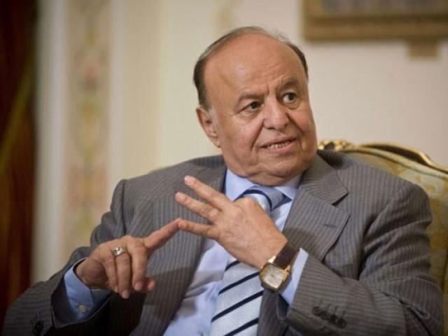 イエメン大統領アブド・Rabbuマンスール・ハディ