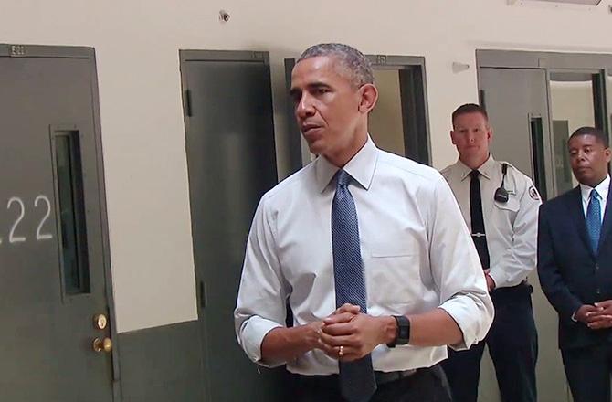 オバマ氏は、初めての刑務所でした