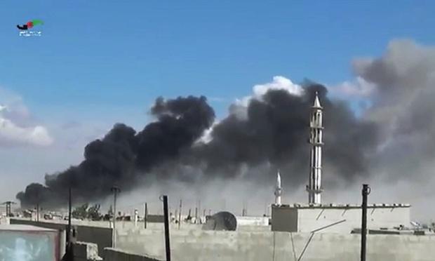 ロシアの空爆は、シリアの一つの家族の48のメンバーを殺します