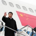 英国への中国の社長習近平今日の5日間の訪問が開始されています