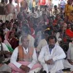 キリスト教受け入れ100家族が住んでジャールカンド部族地域のインドの状態