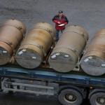 モスクワに濃縮ウランの805トンを運ぶイランの船に達しました。