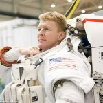 英国の宇宙飛行士ティム・ピーク