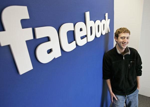 Facebookの創設者兼CEOのMark Zuckerberg