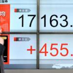 東京証券取引所の株価情報は500ポイント上昇しました