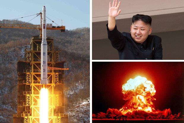 北朝鮮がロケットを起動するための準備