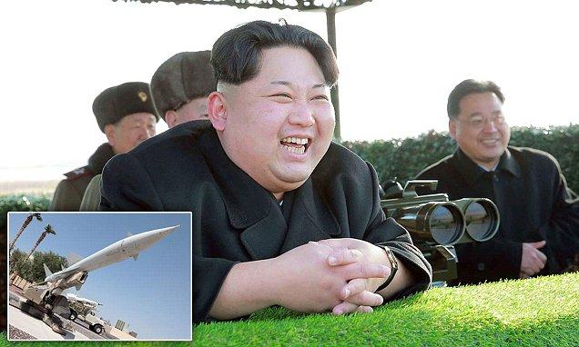 金正恩は、新たな北朝鮮のミサイルを開発したと主張しました