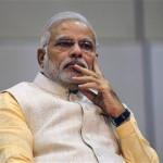 インドの首相ナレンドラ・モディ