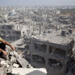 ガザ地区での戦争によって損傷5000家屋