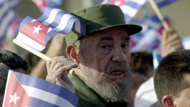 キューバ、フィデル・カストロの共産主義指導者