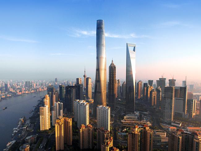 「上海タワー、第二の最も高い建物