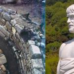 アリストテレスの墓は、ギリシャの発掘中に発見します