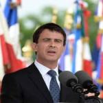 フランスの首相マニュエル・ヴァルス