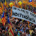 カタルーニャのスペインからの離脱を要求することはあまりにも大声で持っています