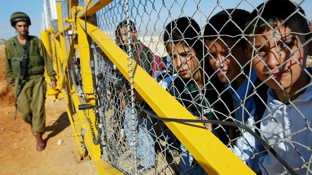 毎年イスラエル軍裁判所で裁判に直面する700パレスチナの子どもたち